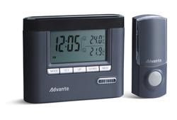 Беспроводной звонок (с часами и термометром)