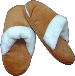 Грелка для ног тапочки