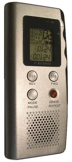 Цифровой мини-диктофон