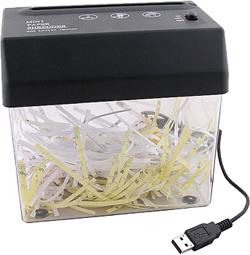 Шреддер документов миниатюрный (USB)