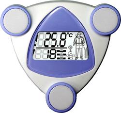 Уличный термометр с ЖК-дисплеем