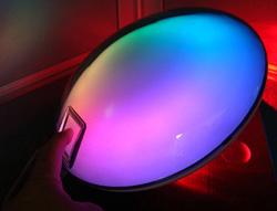 Цветной светодиодный светильник сенсорный
