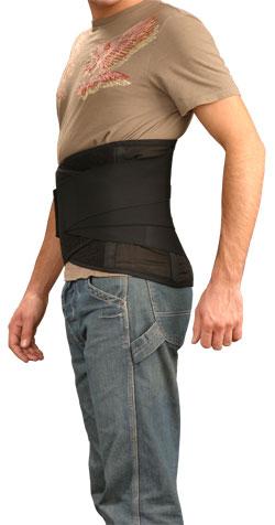 Ортопедический поддерживатель спины усиленный