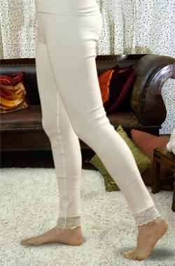 Панталоны согревающие из ангоры удлиненные женские