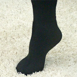 Зимние носки из пуха ангоры и шерсти плотные