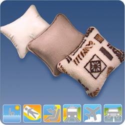 Сидушка-подушка надувная 3 в 1 шерстяная