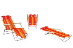 Дачное кресло-шезлонг XYC-061A