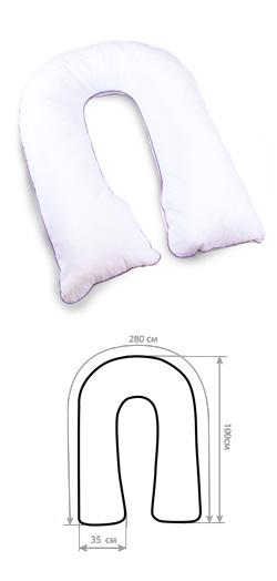 Подушка U лежанка 280 x 35