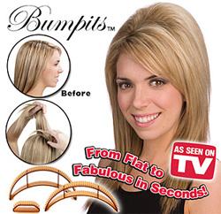 Заколки для объемных волос Bumpits