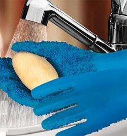 Брадекс ТатерМитт перчатки кухонные для чистки овощей