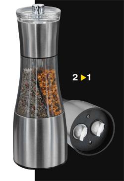 Ручная мельничка для перца и приправ (м1520)