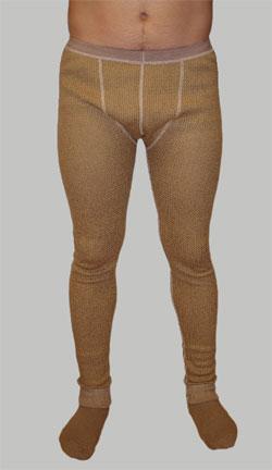 Нижние брюки из верблюжьей шерсти
