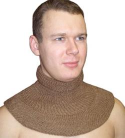 Зимний воротничок-шарфик