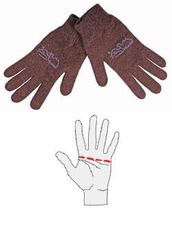 Перчатки шерстяные Doctor