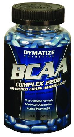 BCAA 2200 Dymatize 200 капсул