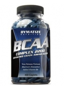 BCAA Complex 2200 Dymatize Nutrition 400 капсул