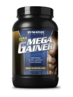 Гейнер (помогает набрать вес) MegaGainer Dymatize 3632 гр.