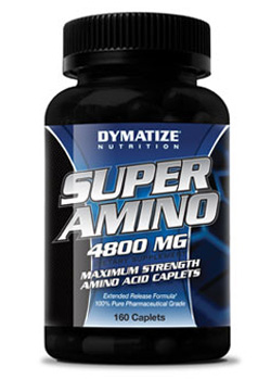 Аминокислоты в капсулах Super Amino 4800 Dymatize Nutrition 325 капсул