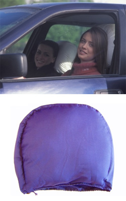 Подушка-подголовник на автокресло