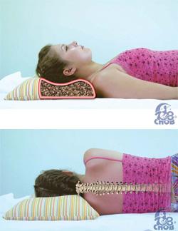 Гречишная ортопедическая подушка Воздушный сон