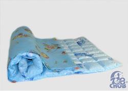 Наматрасник для детской кроватки с гречкой