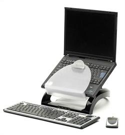Эргономическая подставка для ноутбука Рабочая Станция