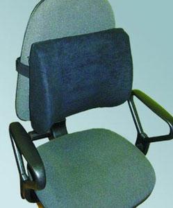 Ортоподушечка Fosta 5002 автомобильная для спины, ее разгрузки со вспомогательными фиксирующими ребрами
