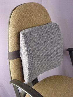 Ортопедическая подушка под спину на автомобильный стул fosta-5003