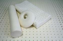 Анатомическая латексная подушка в форме кольца
