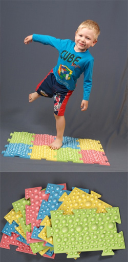 Коврик детский для массажа ног
