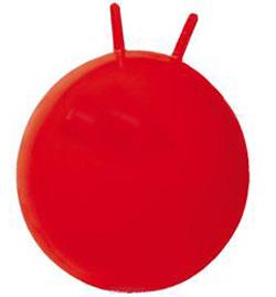 Резиновый мяч с рожками 50 см
