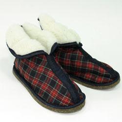 Тапочки закрытые овечие Шотландские (мужские)
