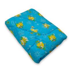 Детское одеяло 110х140 классика (бязь и овечья шерсть)