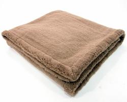 Одеяло из верблюжьей шерсти Караван цельношерстяное 140x205