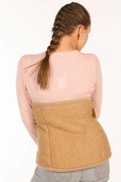 Пояс-корсет целебный из верблюжьей шерсти (широкий)