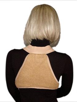 Накладка из верблюжей шерсти (на верхнюю половину спины) треугольником