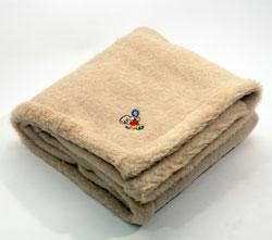 Одеяло 118 x 118 детское из овечей шерсти