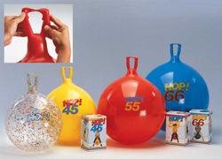 Детский мяч-кенгуру Hop 55 см