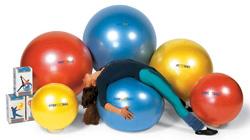 Резиновый мяч с системой антиразрыв BodyBall 55 см
