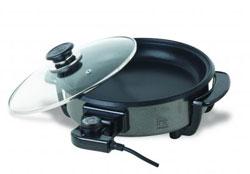 Тефлоновая электрическая сковорода ИР8401