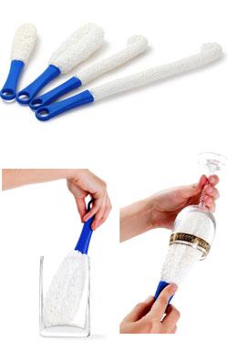 Щетки для мытья бокалов и стаканов