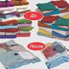 Пакеты для хранения одежды вакуумные  55x86
