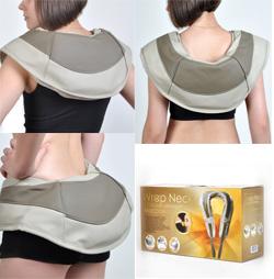 Прибор для массажа шеи, плеч и спины