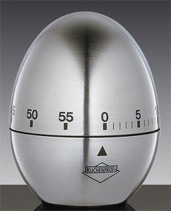Механический таймер в форме яйца