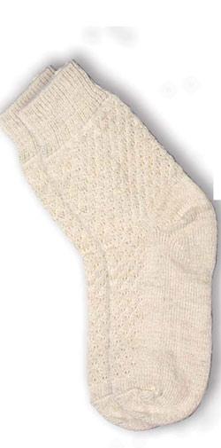 Полушерстяные носки из альпака унисекс