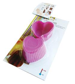 Миниформы из силикона Сердечки N6