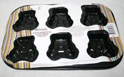 Форма для выпечки с антипригарным покрытием 6 медвежат