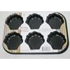 Форма для выпечки с антипригарным покрытием 6 ракушек