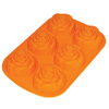 Формочка для выпечки силиконовая 6 розочек