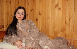 Мериносовый халат согревающий Осень